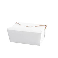 Food Pail Medium Pack No.2 White (200x140x50mmH)