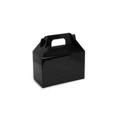 Gable Box Flat packed Medium Black (21.5x12x14cm)