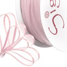 Ribbon Organdy Satin Edge Baby Pink (10mmx20m)