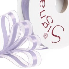 Ribbon Organdina Satin Stripes Lavender (15mmx20m)