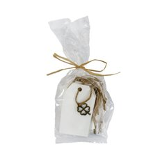 Gift Tags & Labels - Decoration Tag 12 Pack White (4.5cmWx8cmH)