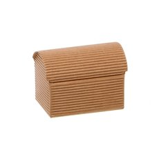 Chest Box Bomboniere Party Favour 10 Pack Kraft (7x4.5x5cmH)