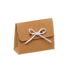 Clutch Bomboniere Party Favour 10 Pack Kraft (8.5x3x6.5cmH)