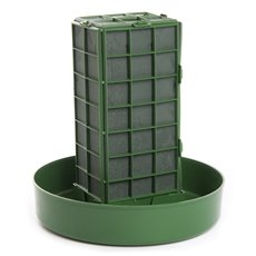 Cages, Casket Covers & Trays - Strass Vertical Cage Stand Single Cage 24Dx25cmH