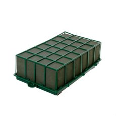 Cages, Casket Covers & Trays - Plastic Cage Jumbo Foam with Anti Slip Feet (32x18x9cmH)