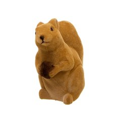 Flocked Artificial Grass Squirrel Brown (20cm)