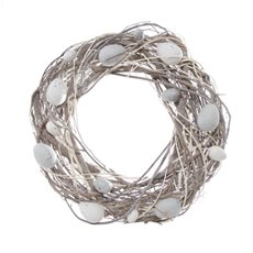 Cozy Nest Eggs Wreath Natural (35cmD)