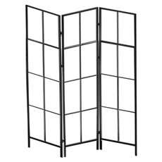 Metal Display Screen Frame Black  (119x160cmH)