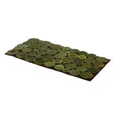 Wooden Placemat Rectangle Green (40x20cm)