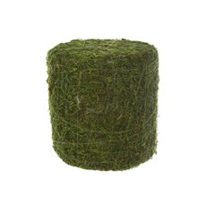 Display Moss Block Cylinder Green (25x26cmH)
