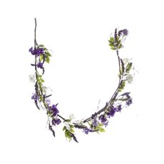 Artificial Jasmine & Lavender Garland Purple (150cm)