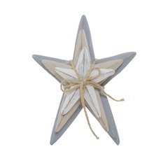 Coastal Star Fish Set of 3 (18x22x6cm)
