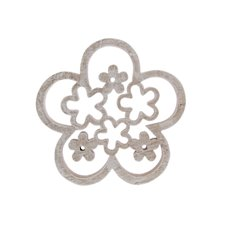 Easter Flower Cutout Design Decoration Natural (18X15X2cm)