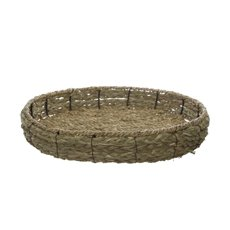Tray Natural Round (36x36x8.5cmH)