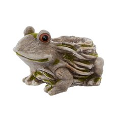 Home Seasonal Decorations - Frog Planter Stone Look (36x26x23cmH )