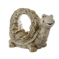 Home Seasonal Decorations - Tortoise Planter Stone Look (41x21x31cmH )