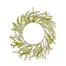Home Seasonal Decorations - Berry Garden Wreath Green (38cmD)