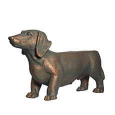Garden Figurines - Sausage Dog Garden Decoration (82x46cmH)