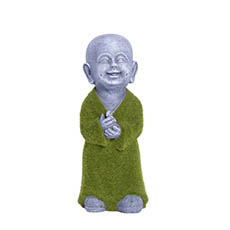 Easter Decoration & Decor - Little Happy Monk Figurine Standing (33cmH)