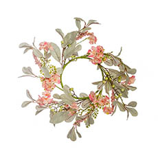 Home Seasonal Decorations - Floral Berry Wreath  (45cmD)
