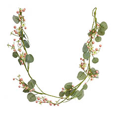 Home Seasonal Decorations - Pearl Garden Look Garland (150cm)
