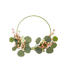 Easter Decoration & Decor - Petite Pearl Garden Look Wreath (35cmD)