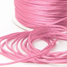 Cords - Satin Cord Baby Pink (2mmx100m)