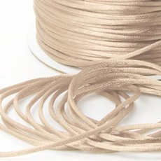 Cords - Satin Cord Cream (2mmx100m)