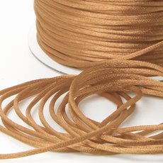 Cords - Satin Cord Gold (2mmx100m)