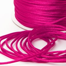 Cords - Satin Cord Hot Pink (2mmx100m)