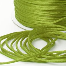 Satin Cord Lime (2mmx100m)