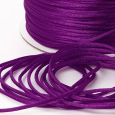 Cords - Satin Cord Violet (2mmx100m)