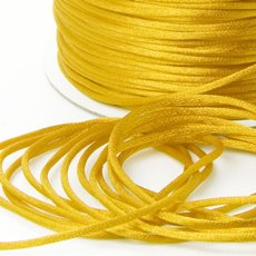 Satin Cord Yellow (2mmx100m)