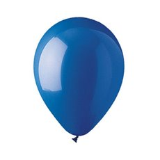 Latex Premier Quality Helium Balloon 12 10 Pack Blue