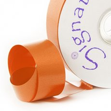 Florist & Gift Poly Tear Ribbons - Premium Tear Ribbon Bright Orange (30mmx91m)