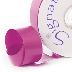 Florist & Gift Poly Tear Ribbons - Premium Tear Ribbon Hot Pink (30mmx91m)