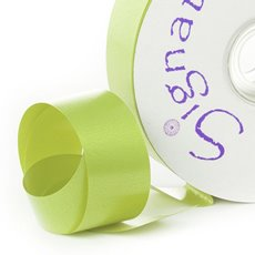 Florist & Gift Poly Tear Ribbons - Premium Tear Ribbon Lime (30mmx91m)