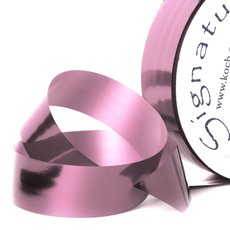 Florist & Gift Poly Tear Ribbons - Premium Tear Ribbon Metallic Pink (30mmx91m)