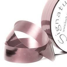 Florist & Gift Poly Tear Ribbons - Premium Tear Ribbon Metallic Rose Gold (30mmx91m)