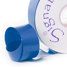 Florist & Gift Poly Tear Ribbons - Premium Tear Ribbon Royal Blue (30mmx91m)
