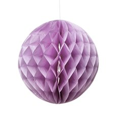 Hanging Honeycomb Purple (29cmD)