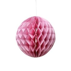 Hanging Honeycomb 2 Pack Pink (20cmD)