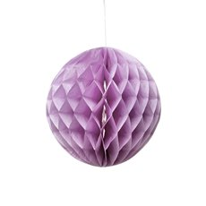 Hanging Honeycomb 2 Pack Purple (20cmD)