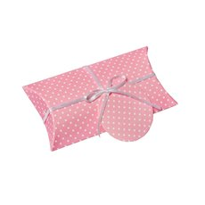 Dotted Pillow Box 10 Pack Pink (17x8x2.5cm)
