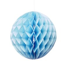 Party Decorations - Hanging Honeycomb Blue (29cmD)