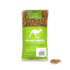 Rubber Bands - Rubber Bands Biodegradable Bag 500g Size 10 (35mmLx1.5mmW)