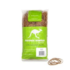 Rubber Bands - Rubber Bands Bag 500g Size 16 Biodegradable (60mmLx1.5mmW)