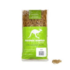 Rubber Bands - Rubber Bands Bag 500g Size 8 Biodegradable (25mmLx1.5mmW)