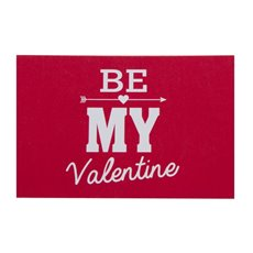 Cards Be My Valentine 10x6.5cmH 50pk