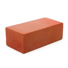 Strass Coloured Foam Wet Brick Orange (23x11x8cmH)